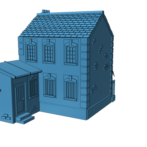nick2_bk.png Download free STL file Ripper's London - The Nick • Design to 3D print, Earsling