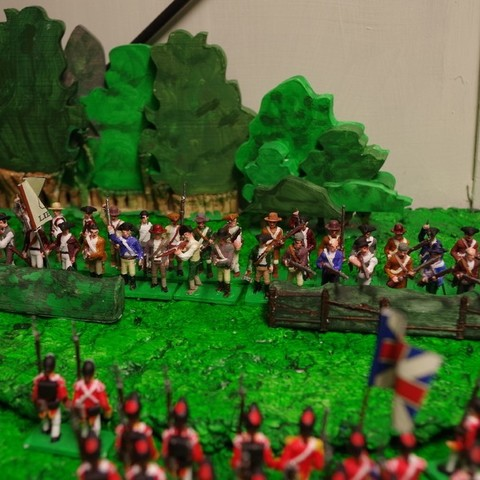 Download free STL file American War of Independence - Part 2 - American Minutemen / Armed militia/colonists • Model to 3D print, Earsling