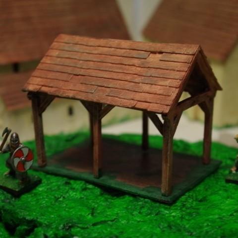 Download free STL file Saxon Barn 1 • 3D printer model, Earsling