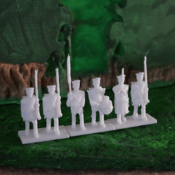 Download free STL file Napoleonics - Part 10 - Prussian Infantry • Design to 3D print, Earsling