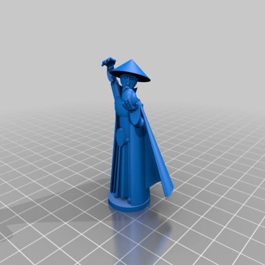 Download free 3D printer templates The Streets of Shangri La - The Xun Sorceror, Earsling