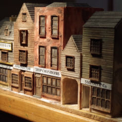 modelo stl gratis Ripper's London - The Shops Parte 3 - The Ship Chandlery, Earsling