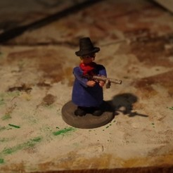 Free 3D file Dark days in New Jersey - Part 1 - Pietro 'the windy miller' Fraschetti, Earsling