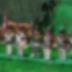 Free 3d printer files Napoleonics - Part 8 - Russian Infantry, Earsling