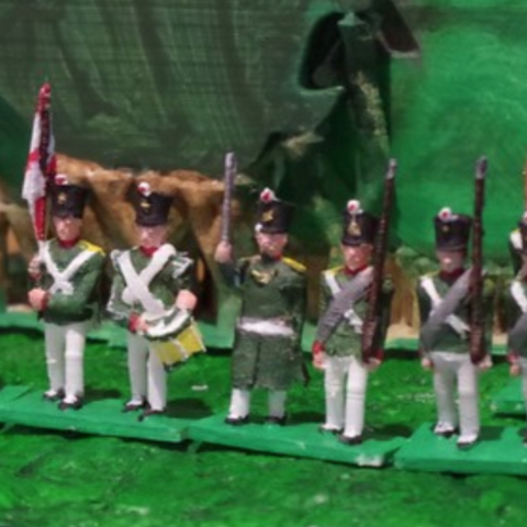 Free Napoleonics - Part 8 - Russian Infantry 3D printer file, Earsling