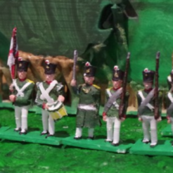 Download free STL file Napoleonics - Part 8 - Russian Infantry • 3D printer object, Earsling