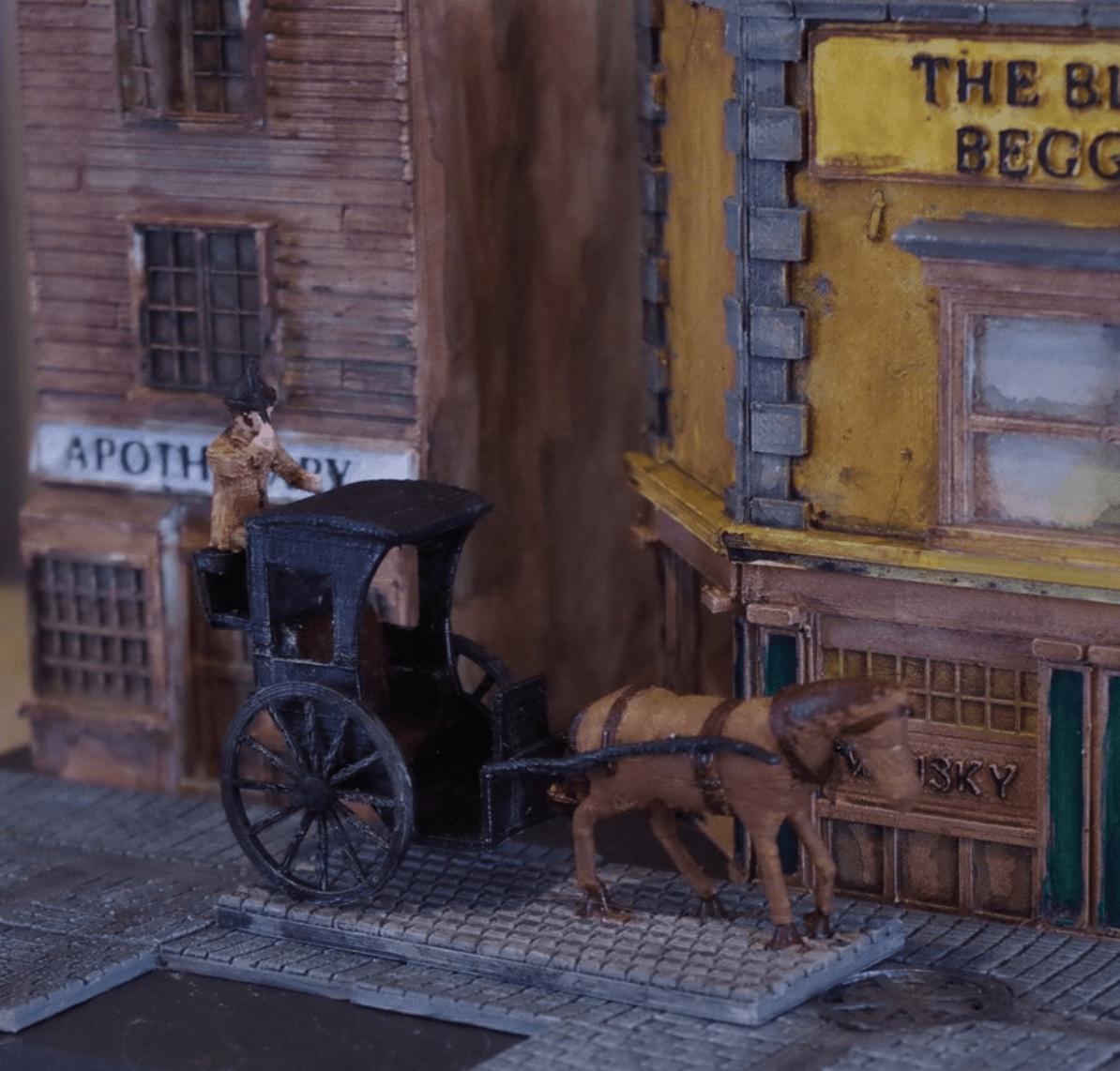 Capture d'écran 2018-04-18 à 09.42.00.png Download free STL file Ripper's London - The Hansom Cab • 3D printable design, Earsling