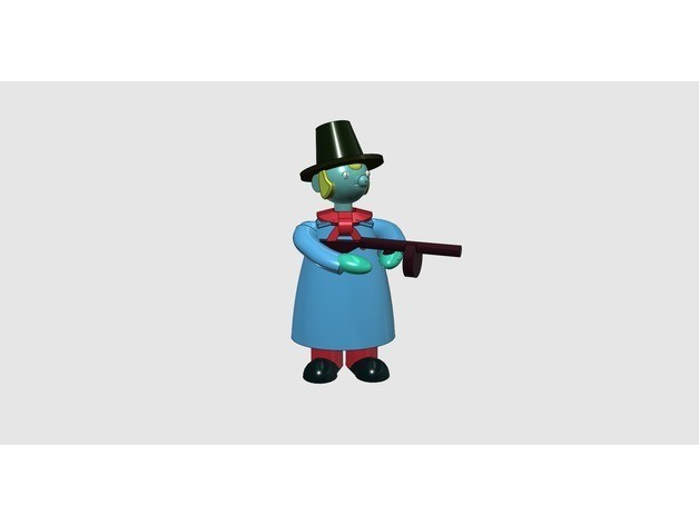 52efe3b7acf36307fe2995d4043d485a_preview_featured.jpg Download free STL file Dark days in New Jersey - Part 1 - Pietro 'the windy miller' Fraschetti • 3D printable model, Earsling