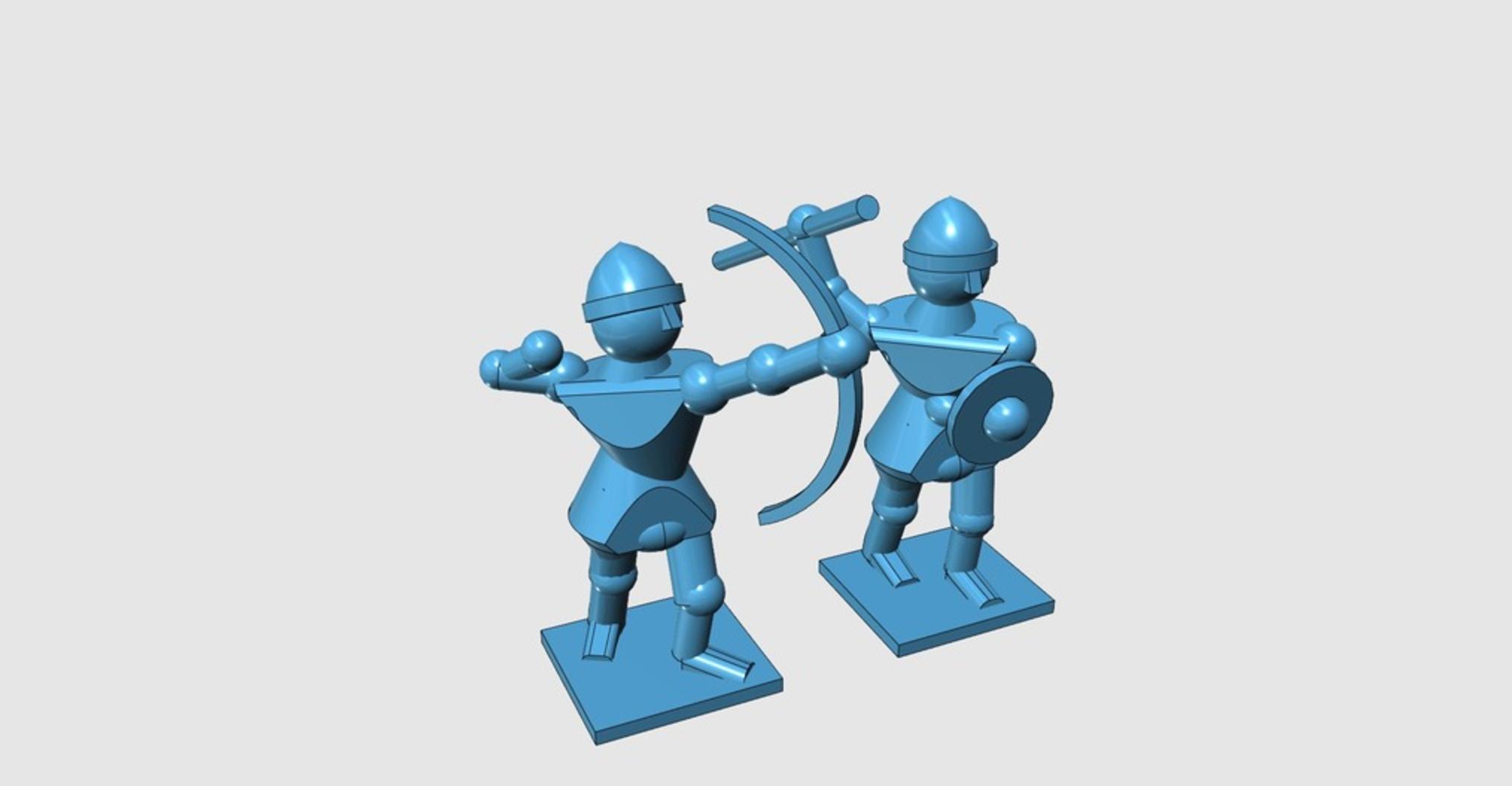Capture d'écran 2017-06-30 à 12.40.02.png Télécharger fichier STL gratuit Générique Sword'n'Board 28mm Archers and Skirmishers • Plan pour imprimante 3D, Earsling