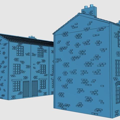 Capture d'écran 2017-06-30 à 09.58.11.png Télécharger fichier STL gratuit Ripper's London - Maisons à haute hauteur • Design pour imprimante 3D, Earsling