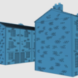 Download free STL Ripper's London - Tall Terraced houses, Earsling