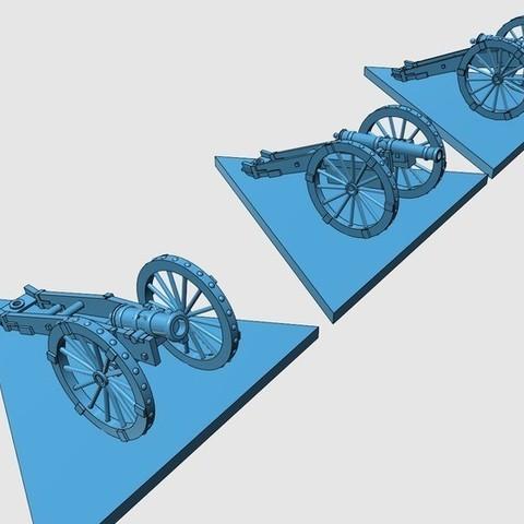a909cf1a49a55b36435df24d4a148db1_display_large.jpg Télécharger fichier STL gratuit Guerre d'Indépendance Américaine - Partie 8 - Artillerie générique et avant-trains • Design à imprimer en 3D, Earsling