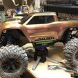 Download 3D printing models TRAXXAS XMAXX WORK STAND, 3DMills