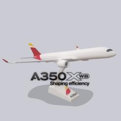 Descargar archivos STL AIBRUS A350-900 xwb SUPER DETALLADO (SNAP-ON), Efren12