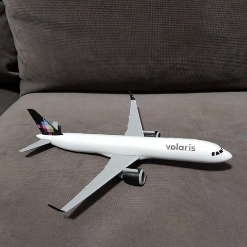 Impresiones 3D Airbus A321 Neo, Efren12