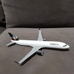 a321 neo printed 1.jpg Download STL file Airbus A321 Neo • 3D printable model, Efren12
