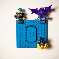 Download free 3D printing templates Inter LEGRAND LEGO, Warabar