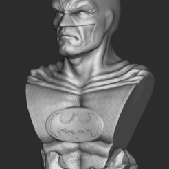 Add Watermark_2020_10_16_05_00_07.png Download STL file Batman bust • 3D printable template, RogerioCorreadeMelo