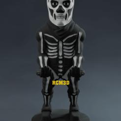 Add Watermark_2020_09_10_08_26_05 (4).png Descargar archivo STL Soldado del cráneo Porta celular y joystick Fortinite • Modelo para la impresora 3D, RogerioCorreadeMelo