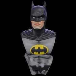 batmanbust.png Télécharger fichier STL Buste de Batman • Objet à imprimer en 3D, RCM3D