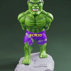 Add Watermark_2020_10_08_11_05_49 (2).png Download STL file Hulk joystick holder  • 3D printable object, RogerioCorreadeMelo