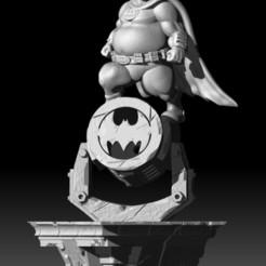 BATMANFINAL.jpg Télécharger fichier STL Statue de Batman (gros Batman) • Modèle pour imprimante 3D, RCM3D