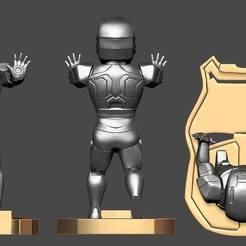Download 3D model Ironman cellphone holder, RogerioCorreadeMelo