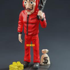 Add Watermark_2020_08_12_03_34_30.png Download STL file La casa de papel (Money Heist) • 3D printing model, RogerioCorreadeMelo