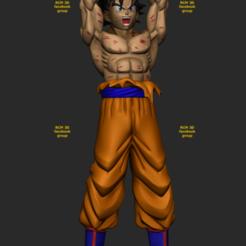 Download 3D printing models Goku Genki dama cellphone and joystick holder , RogerioCorreadeMelo