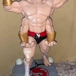 94035081_663094701142681_3039072481592737792_n.jpg Download STL file Mortal kombat Goro • 3D printing template, RogerioCorreadeMelo