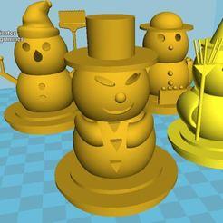 bonhomme_de_neige.JPG Download free STL file Snowmen • 3D printable model, nitrog