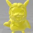 Télécharger fichier 3D Pikachu Thor, RubenCastanho