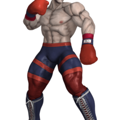 prev.png Download STL file Ed figure SFV • Template to 3D print, RubenCastanho