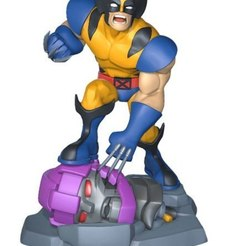 Download 3D printing models Wolverine vs sentinel , RubenCastanho