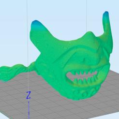 1.png Download STL file samurai mask  • 3D printer design, RubenCastanho