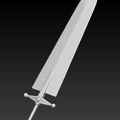 STL files Asta demon sword - demon slayer 3D print model, RubenCastanho