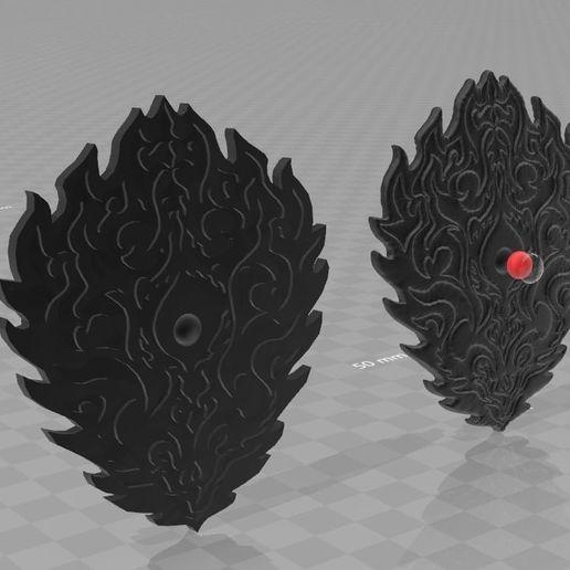 Télécharger objet 3D Naofumi Bouclier de malédiction, RubenCastanho