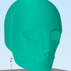 5.png Télécharger fichier STL Masque Q • Objet pour imprimante 3D, RubenCastanho