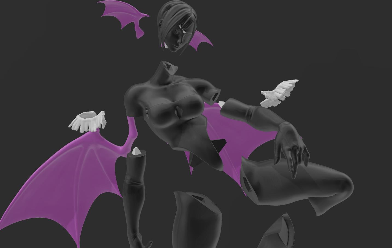 4.png Download STL file Juri figure • Model to 3D print, RubenCastanho
