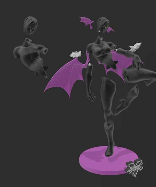 9.png Download STL file Juri figure • Model to 3D print, RubenCastanho