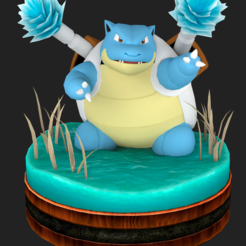 Download 3D printing files Blastoise figure, RubenCastanho