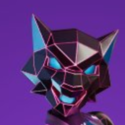 9.png Download STL file Neon wolf mask • 3D printing template, RubenCastanho