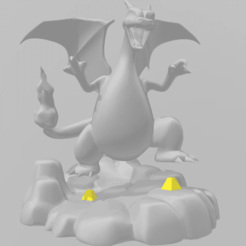 1.png Download STL file Charizard figure • Template to 3D print, RubenCastanho