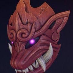 Télécharger objet 3D Masque Odogaron, RubenCastanho