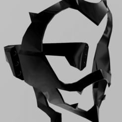 6.png Download STL file Kirishima armor - Red Riot • Model to 3D print, RubenCastanho