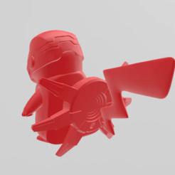 Descargar archivo 3D pikachu ironman, RubenCastanho