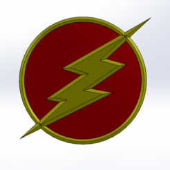 Descargar modelo 3D gratis logotipo de flash, Lys