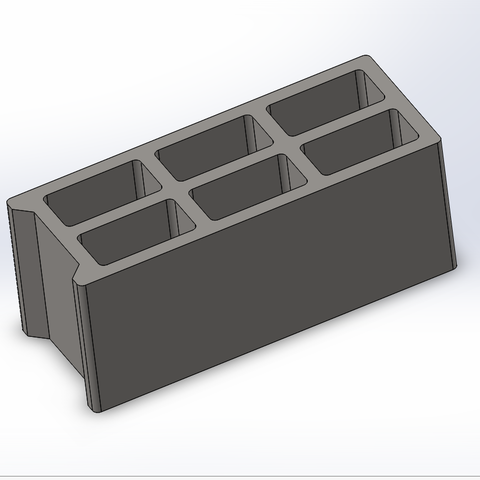 Descargar Modelos 3D para imprimir gratis Bloque de ceniza / ladrillo de ceniza, Lys