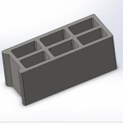 modèle 3d gratuit Parpaing / cinderbrick, Lys