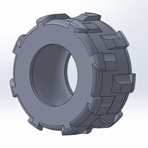 Free STL files Tractor tyre, Lys